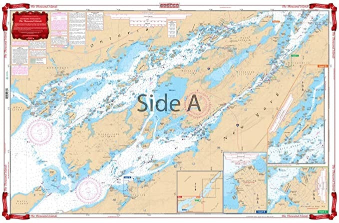 Lake Ontario-Northeast Lake Ontario Waterproof Chart WP-76