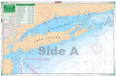 New York Harbor to Block Island WP-02E Large Print