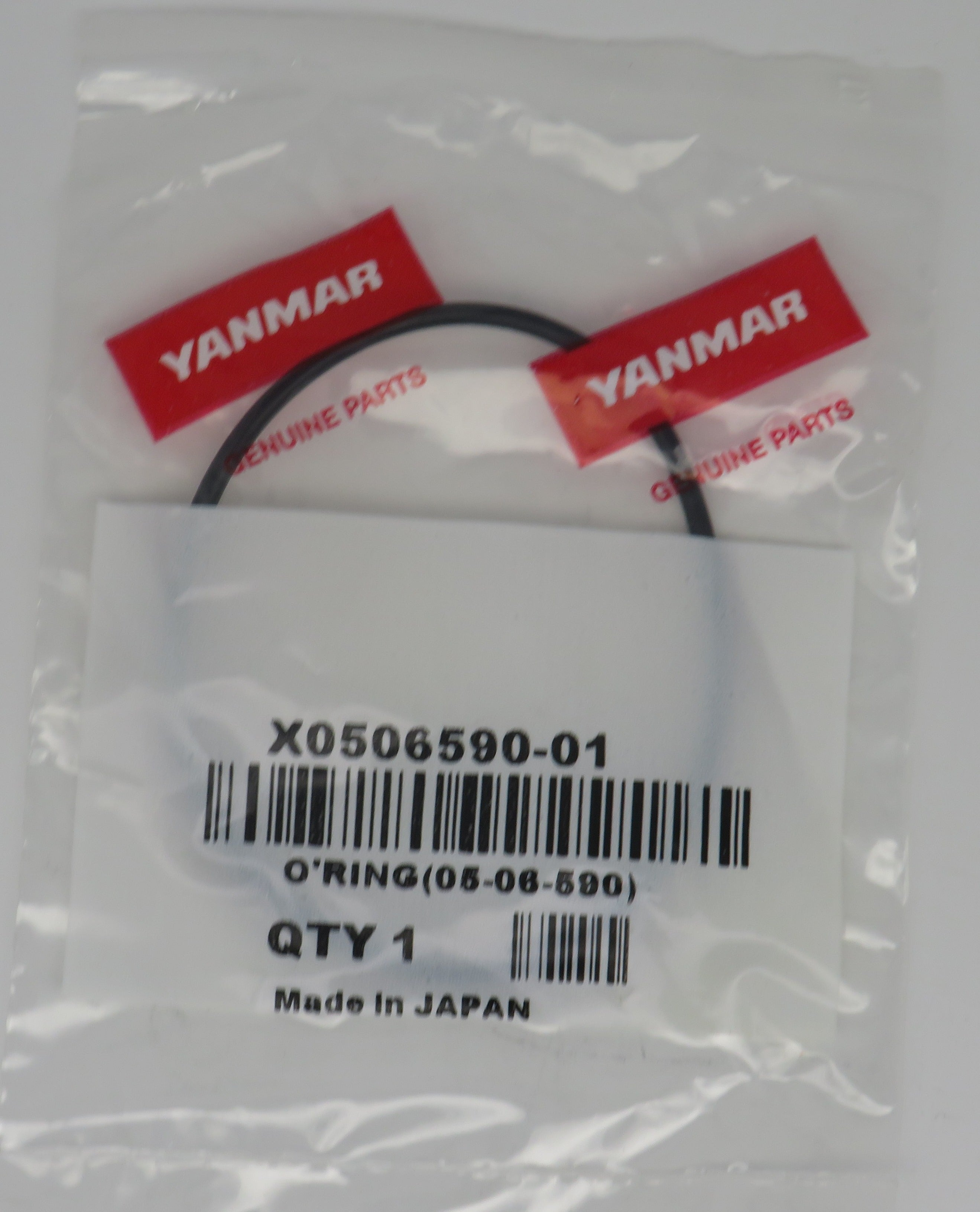X0506590-01 Yanmar O-Ring (05-06-590) 6LP Raw Water Pump Cover (Superceded 119773-42570)