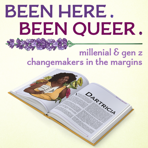 Been Here Been Queer Book Layout