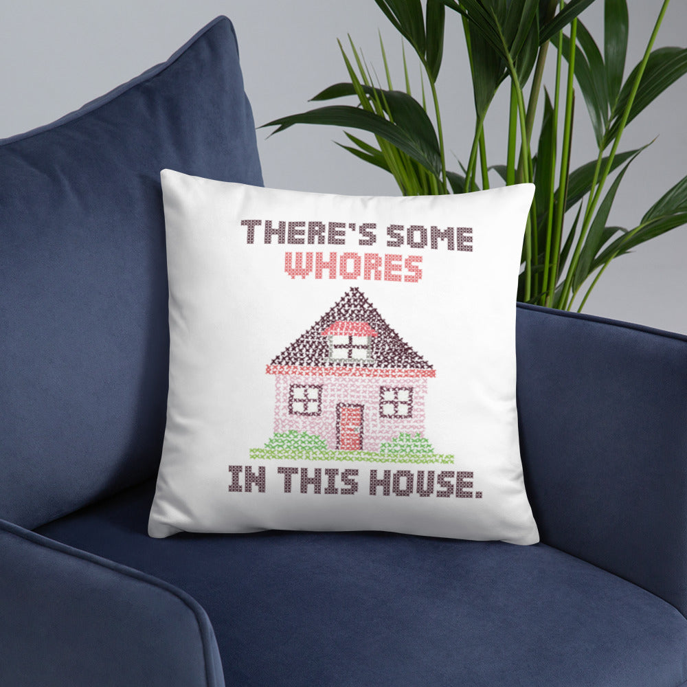 WAP Pillow - There's Some Whores in this House