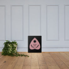 Load image into Gallery viewer, Fuck Off Ouiji Planchette Canvas Print