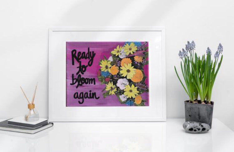 Ready to Bloom Again Print