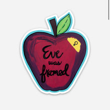 Load image into Gallery viewer, Eve Was Framed Sticker