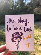 Load image into Gallery viewer, 5 Pack: It's Okay to be a Little Tangled Up Card