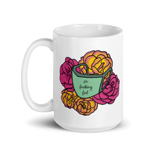 Load image into Gallery viewer, Six F*cking Feet Face Mask Floral Mug
