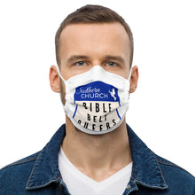 Load image into Gallery viewer, Bible Belt Queers Marquee Face Mask