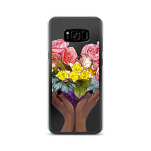 Load image into Gallery viewer, Floral Rainbow  Heart Samsung Case