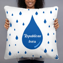 Load image into Gallery viewer, Republican Tears Pillow