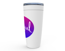 Load image into Gallery viewer, Bisexual Pride Viking Tumblers