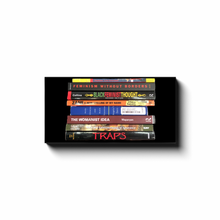 Load image into Gallery viewer, Black Feminist & Womanist Book Stack Canvas Print