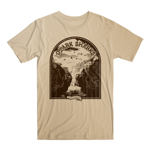 Ozark Sharks | Short Sleeve Unisex T-Shirt - Cream