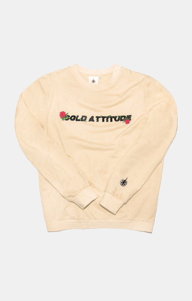 Digital Rose Long Sleeve - Sand Brown - COLD ATTITUDE TORONTO