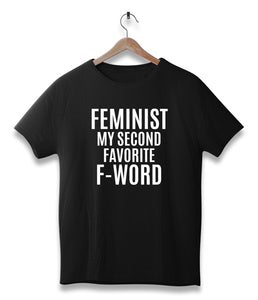 Feminist my second favorite f-word