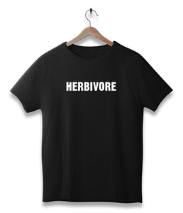 Herbivore - vegan t-shirt | vegetable eater lovers