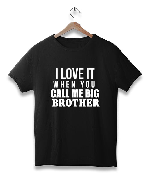 I love it when you call me big brother