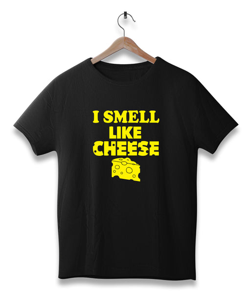 I smell like cheese