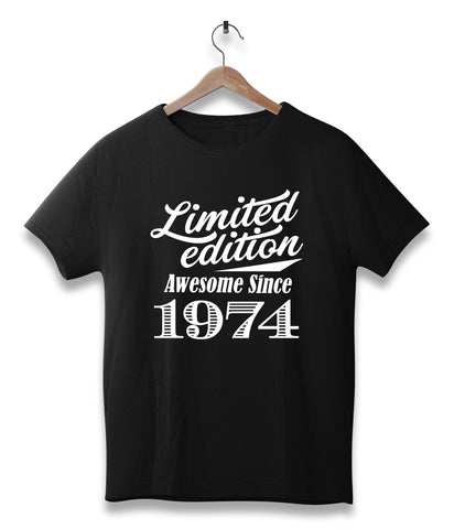Limited edition awesome since 1974