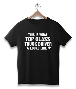 This is what top class Truck driver looks like