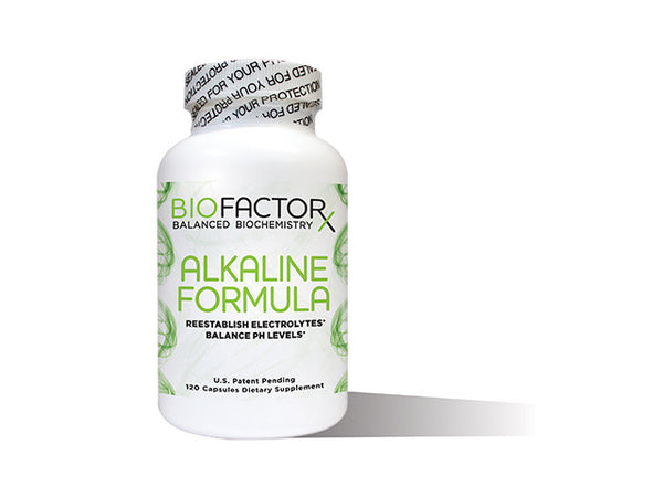 Alkaline Formula white bottle of 120 capsules