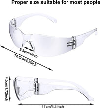 Load image into Gallery viewer, Protective Polycarbonate Eyewear (1pk)