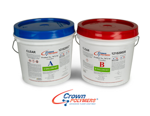 Crown 7072SC Polyaspartic Top Coat Clear 2 Gal Kit