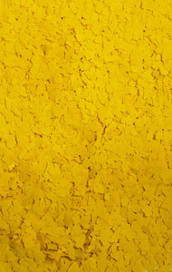 "30 Lbs. of 1/4"" Yellow Paint Chips (Standard Paint Chips)"