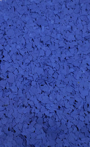 "2 Lbs. of 1/4"" Dark Blue Paint Chips for Custom Accent"