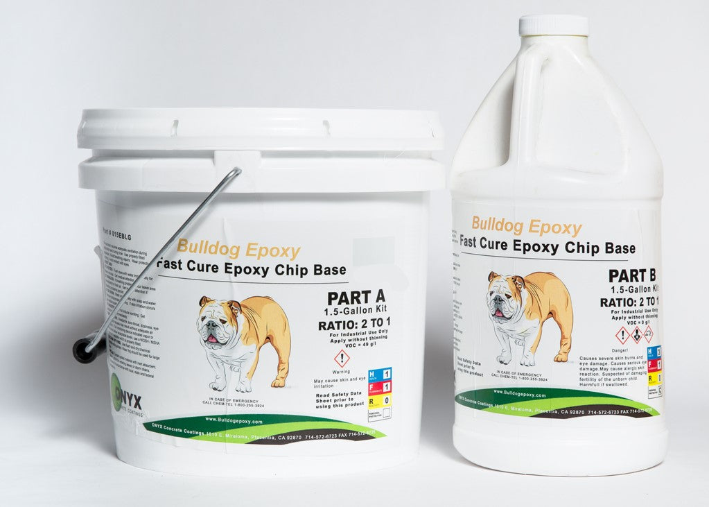 Bulldog Epoxy Base White 1.5 Gal Kit