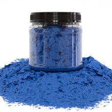 "Load image into Gallery viewer, 30 Lbs. of 1/4"" Blue Paint Chips (Standard Paint Chips)"