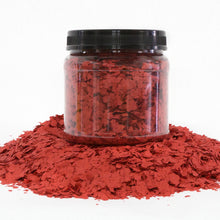 "Load image into Gallery viewer, 2 Lbs. of 1/4"" Tomato Paint Chips for Custom Accent"