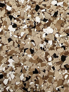 "50 Lbs. of 1"" Espresso Paint Chips (Big Paint Chips)"