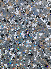 "Load image into Gallery viewer, 30 Lbs. of 1/16"" Heaven&Earth Paint Chips (Micro Paint Chips)"