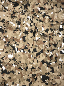 "50 Lbs. of 1/4"" Cappuccino Paint Chips (Standard Paint Chips)"