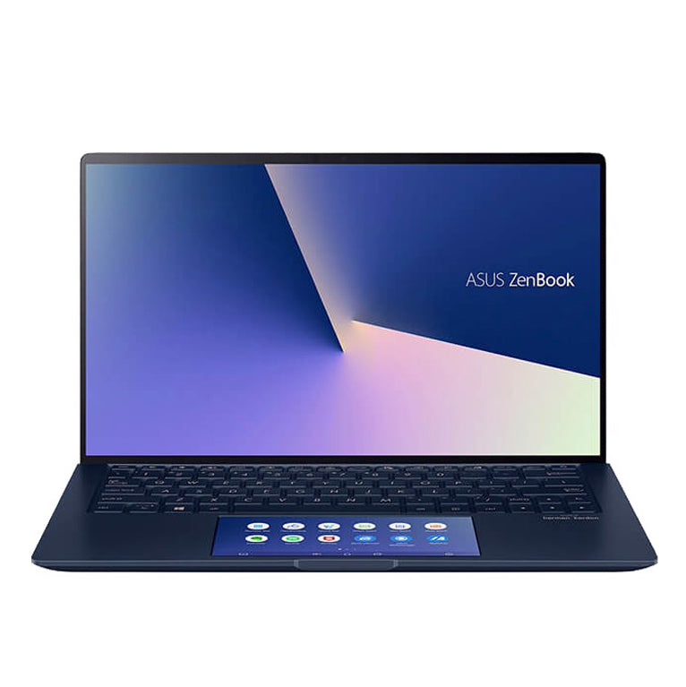Laptop Asus UX334FAC-A4059T Blue, Cpu i5-10210U, 512GB SSD,8G, 13.3 inch FHD, Win10, screen pad )