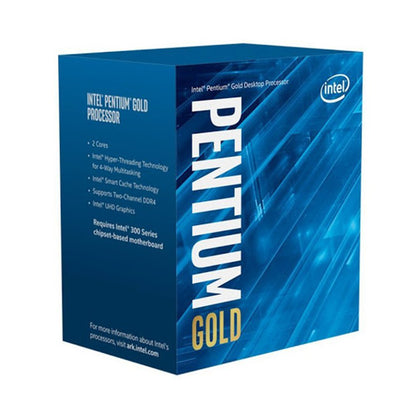 CPU Intel Pentium G6400 4MB, 4.00GHZ CORE 2/4 (Socket 1200 gen10 )