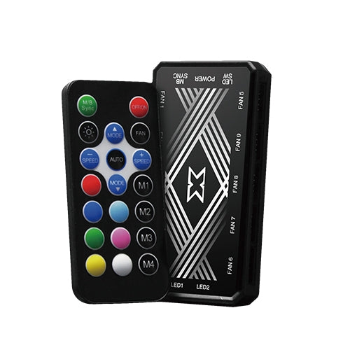 Fan Case Xigmatek Galaxy III Essential BX120 ARGB - EN45433- (combo 3 fan, có remote)