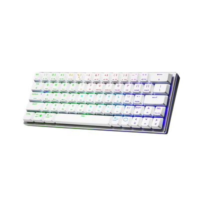 Bàn phím cơ Cooler Master SK622 Silver White /Red Switch