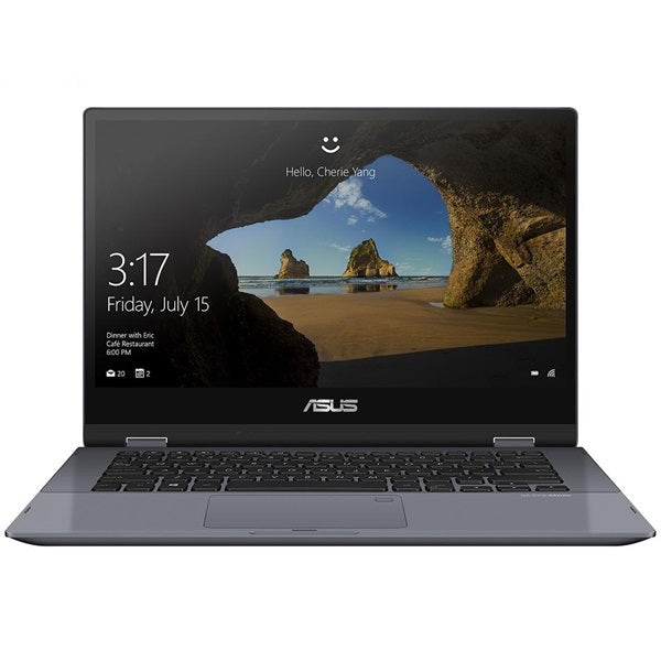 Laptop ASUS TP412FA-EC608T Xám (Cpu I3-10110U, Ram 4Gb, 512G PCIE G3X2 SSD, 14 inch FHD, Win10, Pen, touch)