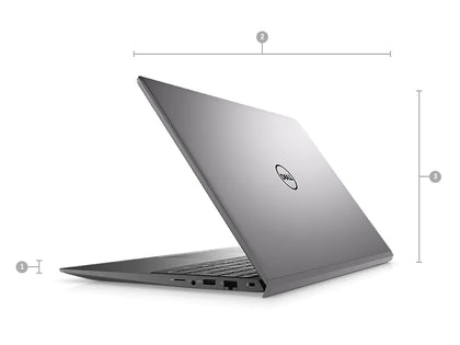 Laptop Dell Vostro 15 5502 -NT0X01 Xám ( Cpu I5-1135G7 (up to 4.20 Ghz, 8MB), Ram 8GB DDR4 3200MHz , SSD 512GB M.2 PCIe NVMe, Vga MX330 2GB GDDR5, 3C40WHr,15.6 inch Full HD, Win10)