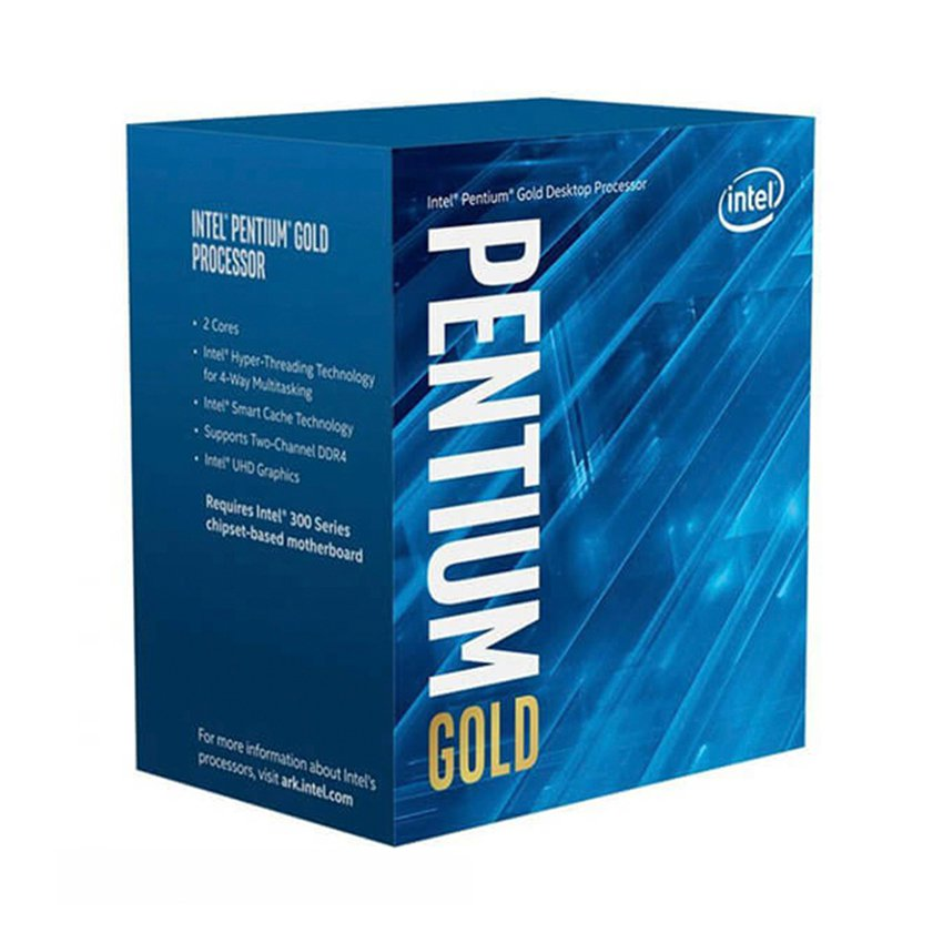 CPU Intel Pentium Gold G5400 (3.7GHz, 2 nhân 4 luồng, 4MB Cache, 58W) - Socket Intel LGA 1151-v2