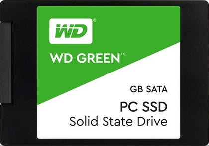 SSD WD 480GB digital green SATA3 (6Gb/s) Read 545 Mb/s-Write 465Mb/s (WDS480G1G0A)