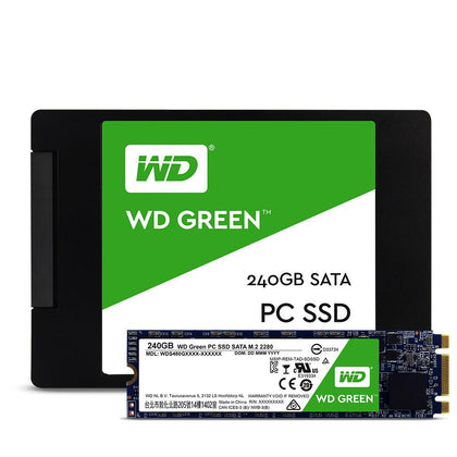 SSD WD 120GB digital green SATA3 (6Gb/s) Read 545 Mb/s-Write 430Mb/s ( WDS120G2G0A)