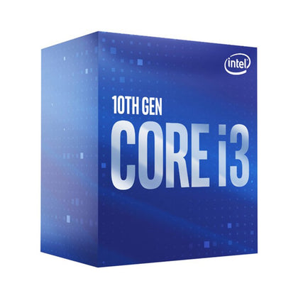 CPU Intel Core i3-10100 (3.6GHz turbo up to 4.3Ghz, 4 nhân 8 luồng, 6MB Cache, 65W)- Socket Intel LGA 1200