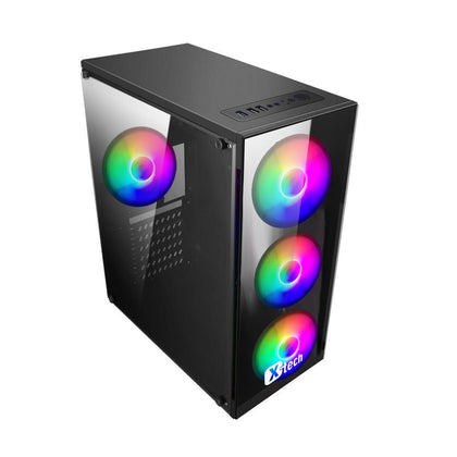 Vỏ case XTECH Gaming G340 ATX- 4 Fan RGB
