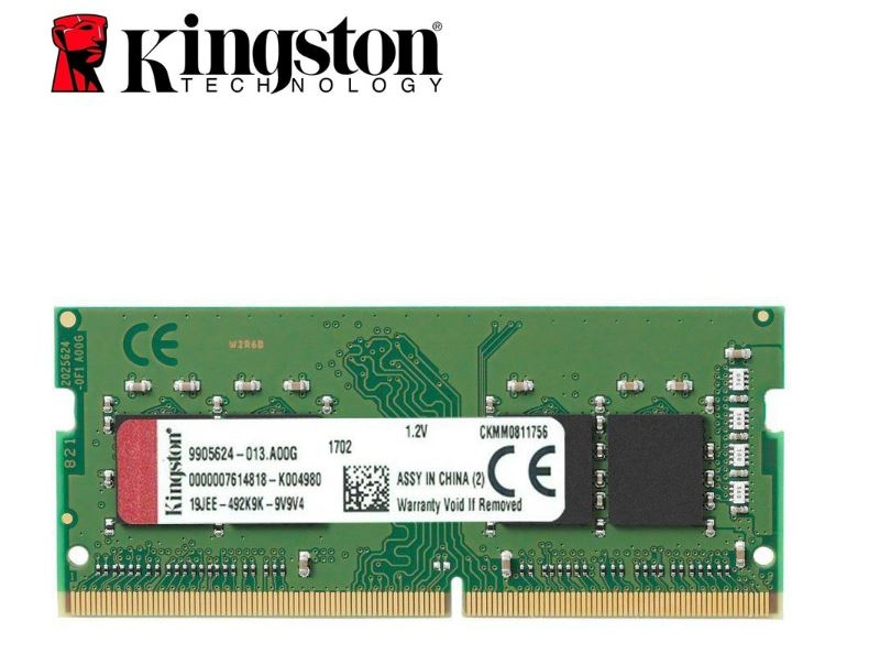 Ram notebook 8gb/2666 Kingston DDR4