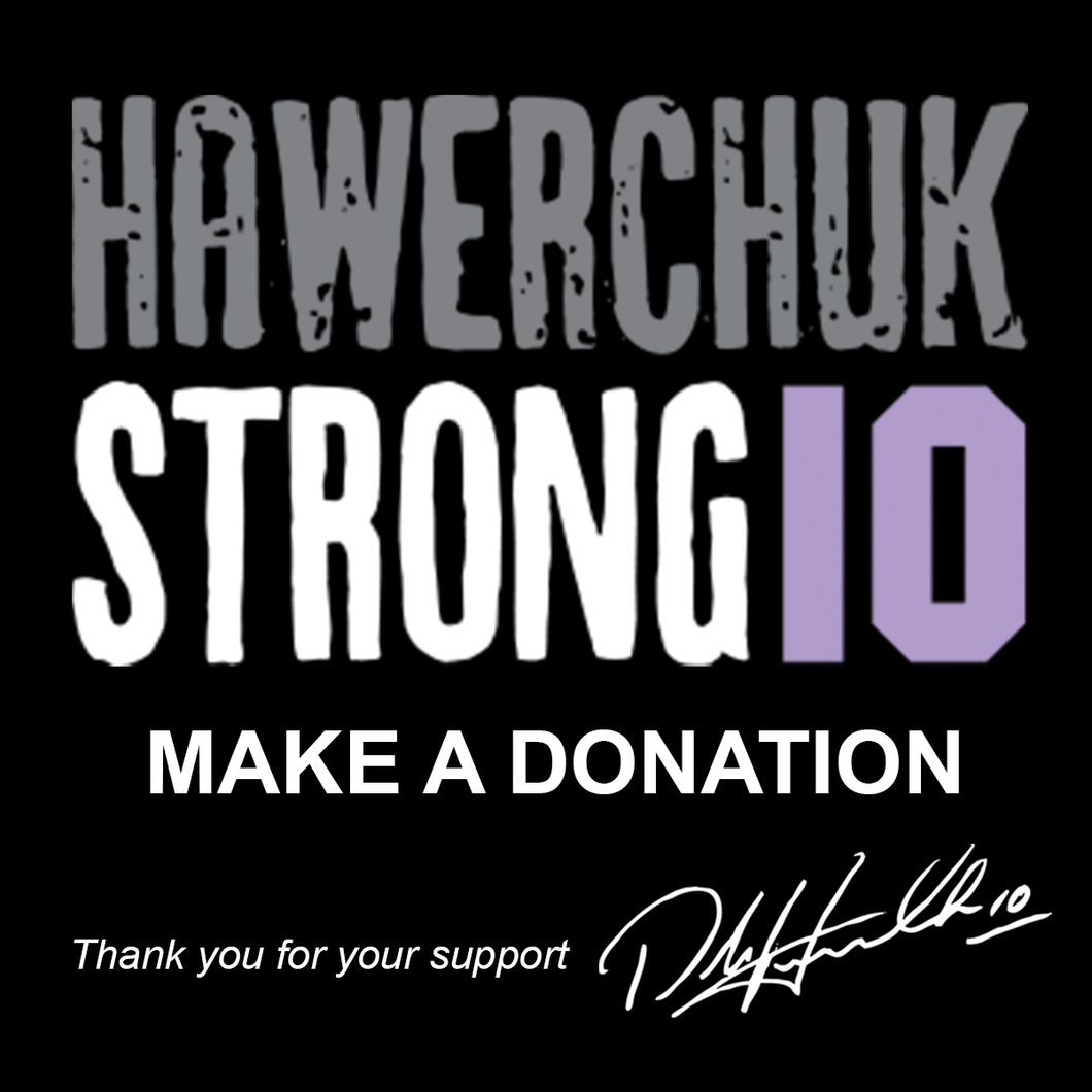 Donation to Hawerchuk Strong