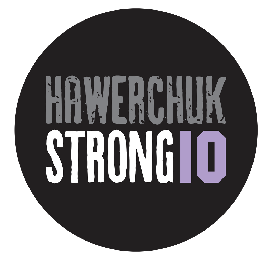 Hawerchuk Strong Round Sticker (5 pack)