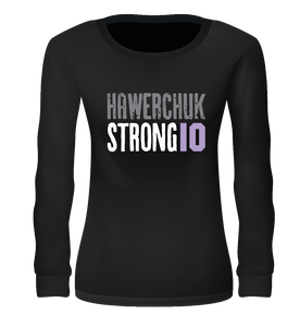 Women's Long Sleeve T-Shirt [Blue, Black, Grey]