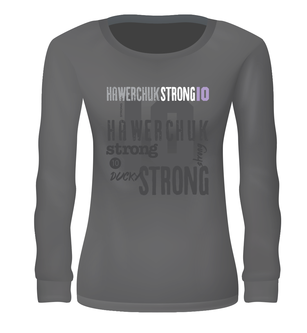 Women's Long Sleeve T-Shirt (Logo & Collage)